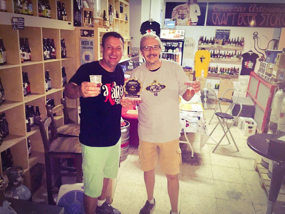 Con Marcio de Brotas Beer (Brasil) o nosso irmão brasileiro