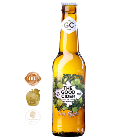 The Good Cider Manzana verde/ Dry Apple 4,5% 33cl