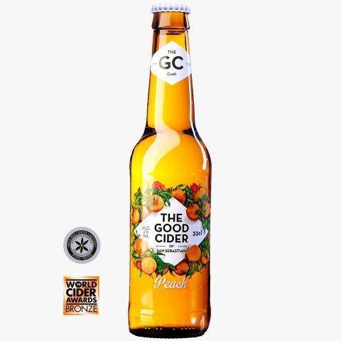 The Good Cider Melocotón/Peach 4% 33cl