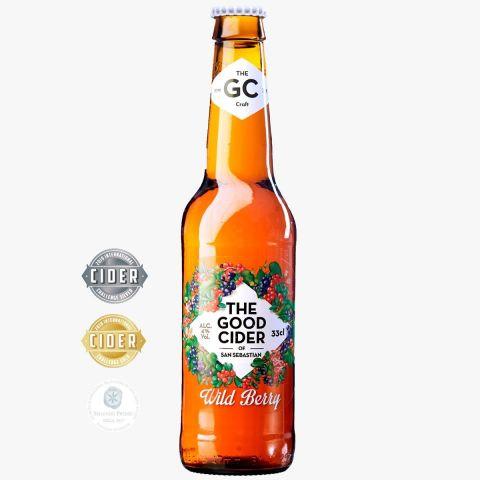 The Good Cider Frutos rojos/Wild Berries 4,0% 33cl