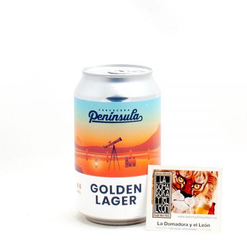 Península Golden Lager 4,6% 33cl Lata